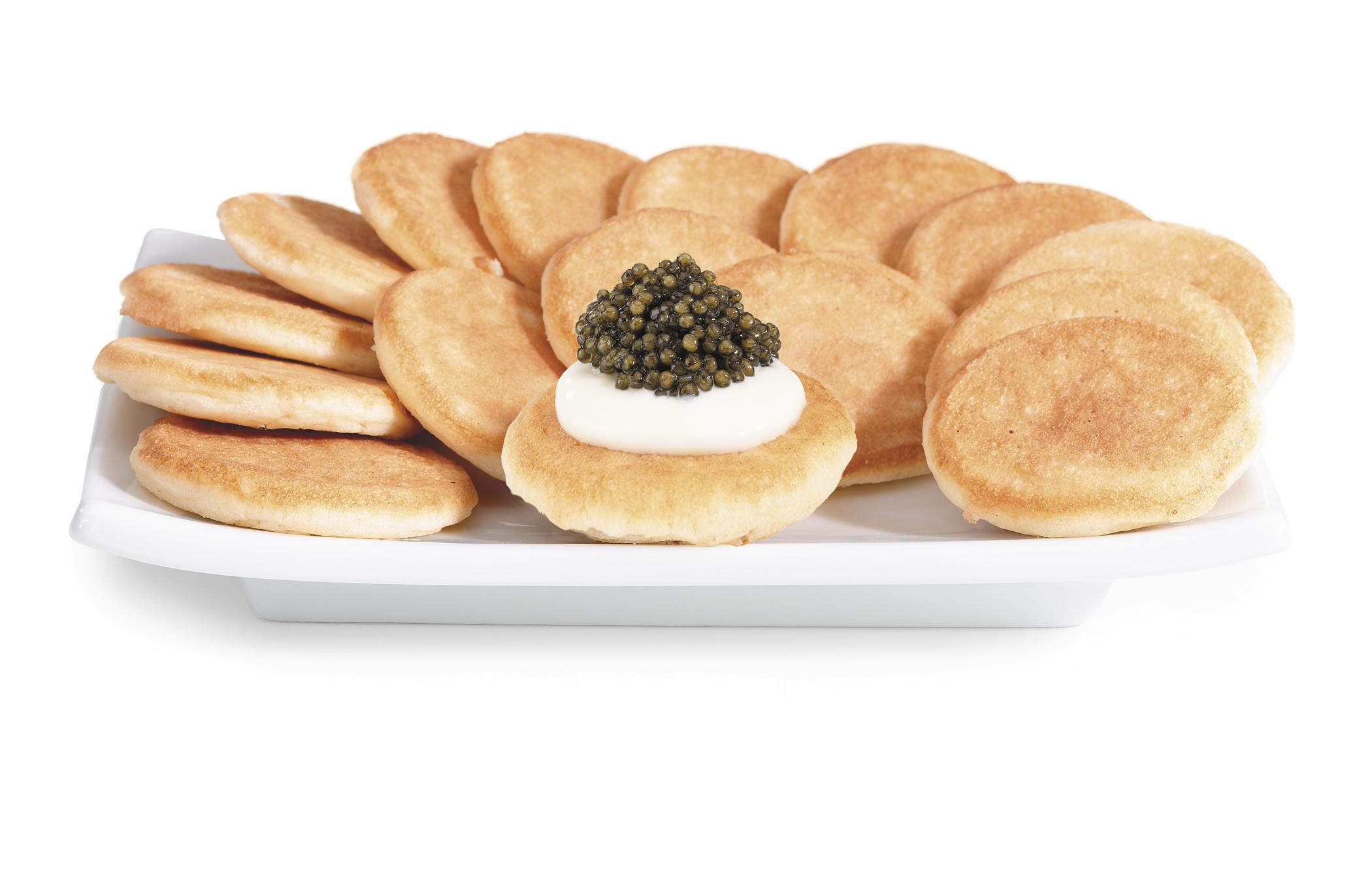 Blines Caviar Creme Fraiche