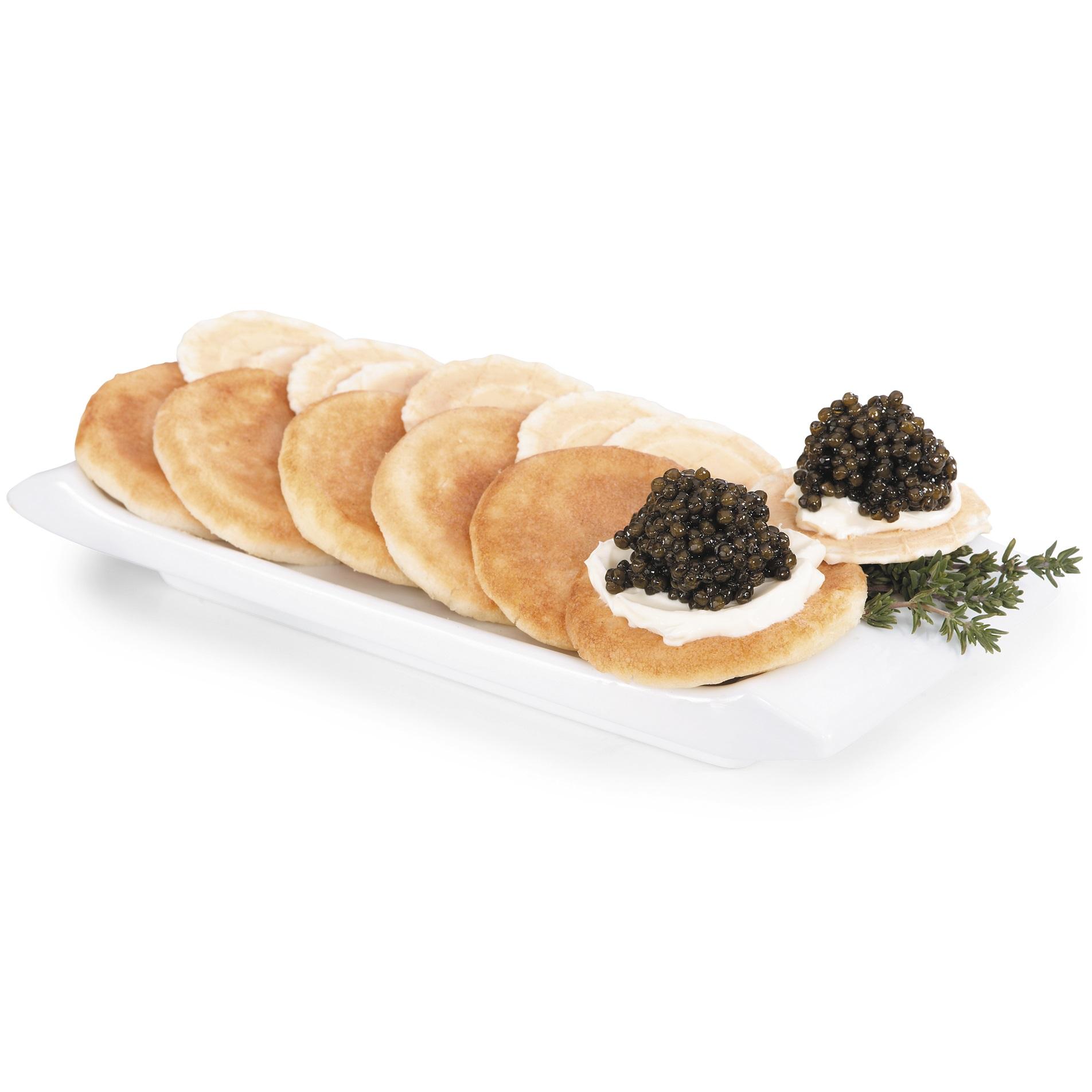 Blinis & Caviar