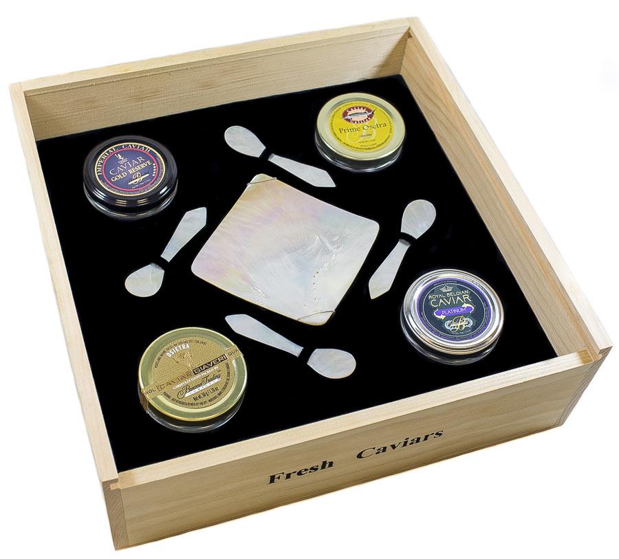Browne Trading Caviar Gift Box