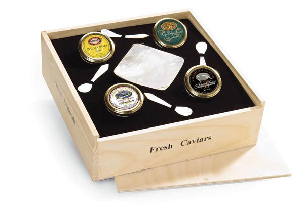 Connoisseurs Choice Caviar Tasting Collection