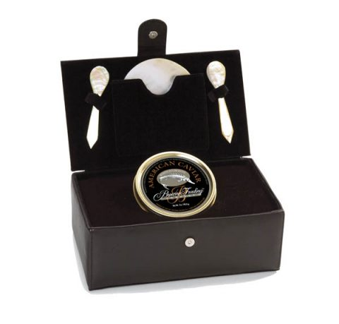 Caviar Attache with Mother of Pearl Spoons