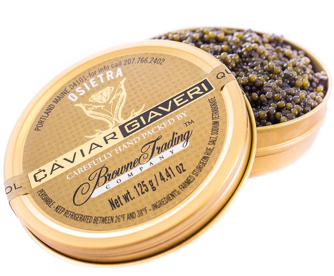 Giaver Osetra Caviar