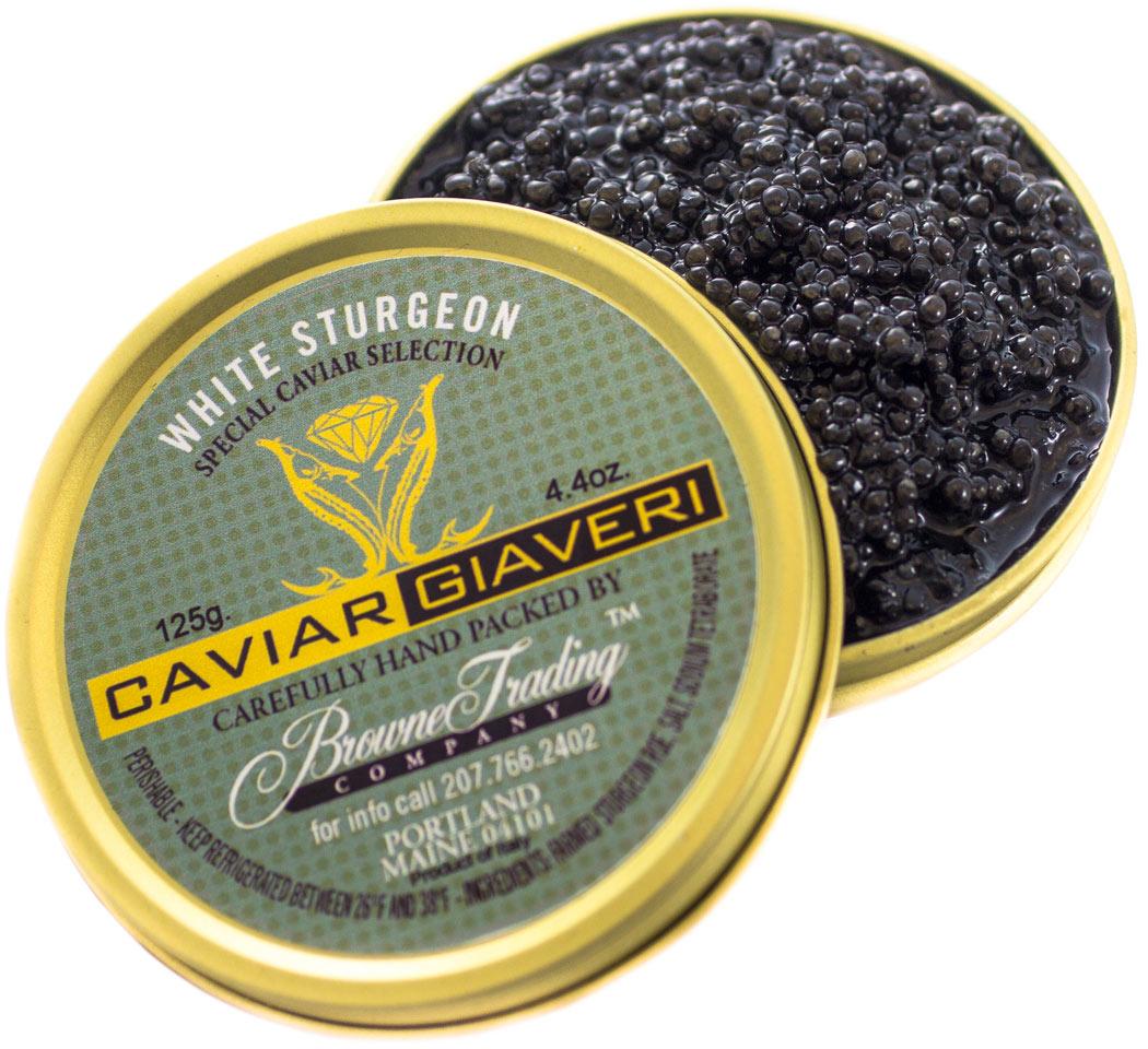 Giaveri White Sturgeon Caviar