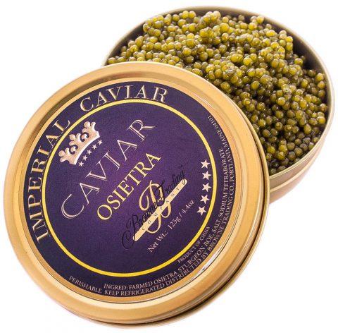 Imperial Gold Osetra Caviar