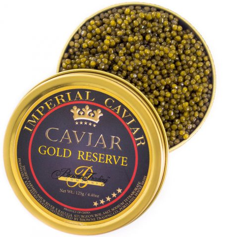 Imperial Gold Reserve Caviar