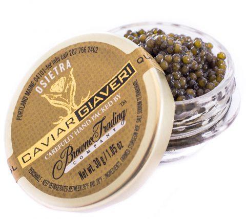 Italian Caviar Jar