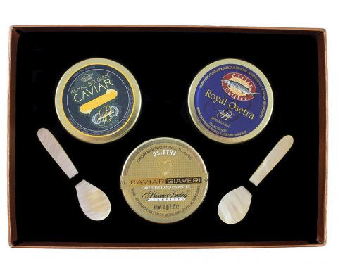 Osetra Caviar Trio