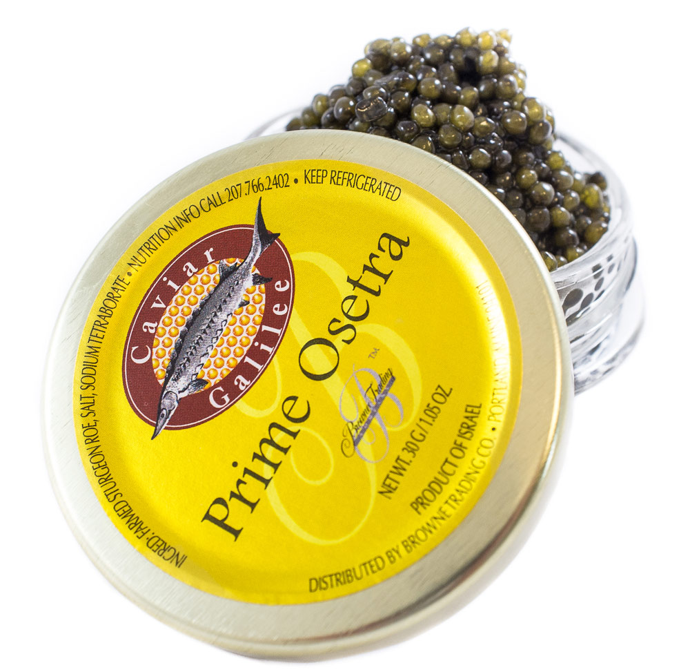 How Israel produces black caviar