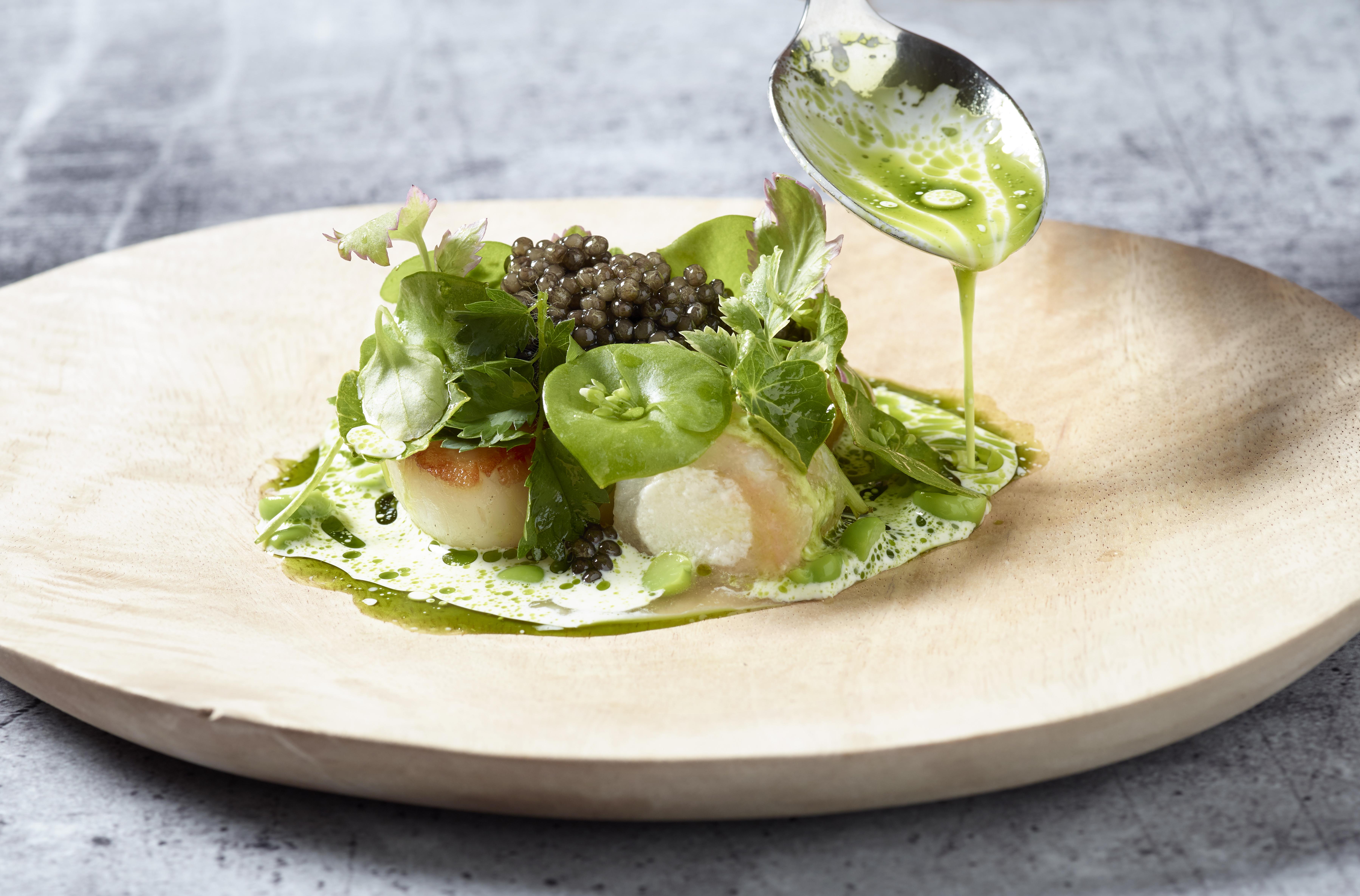 Osetra Caviar Royal Belgian Dish
