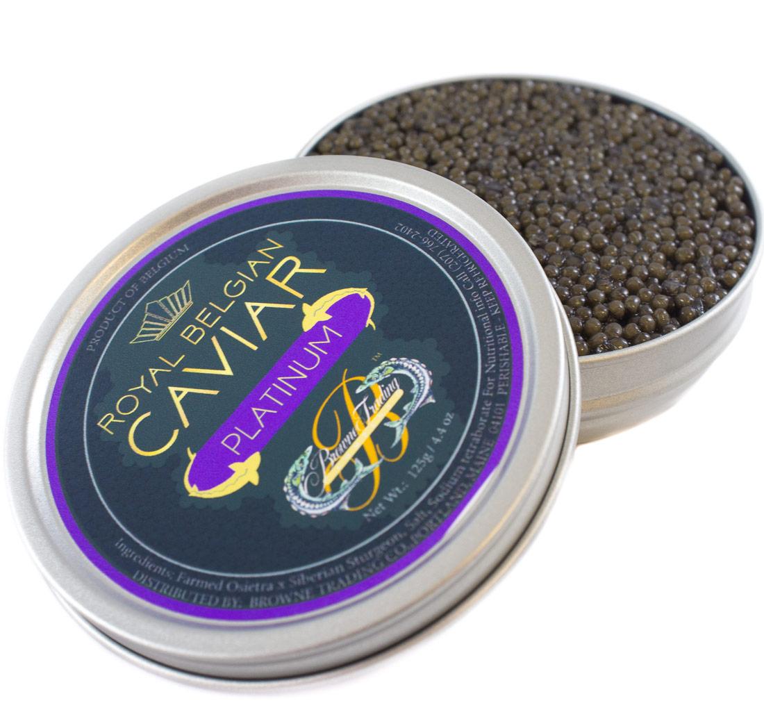 Royal Belgian Platinum Caviar