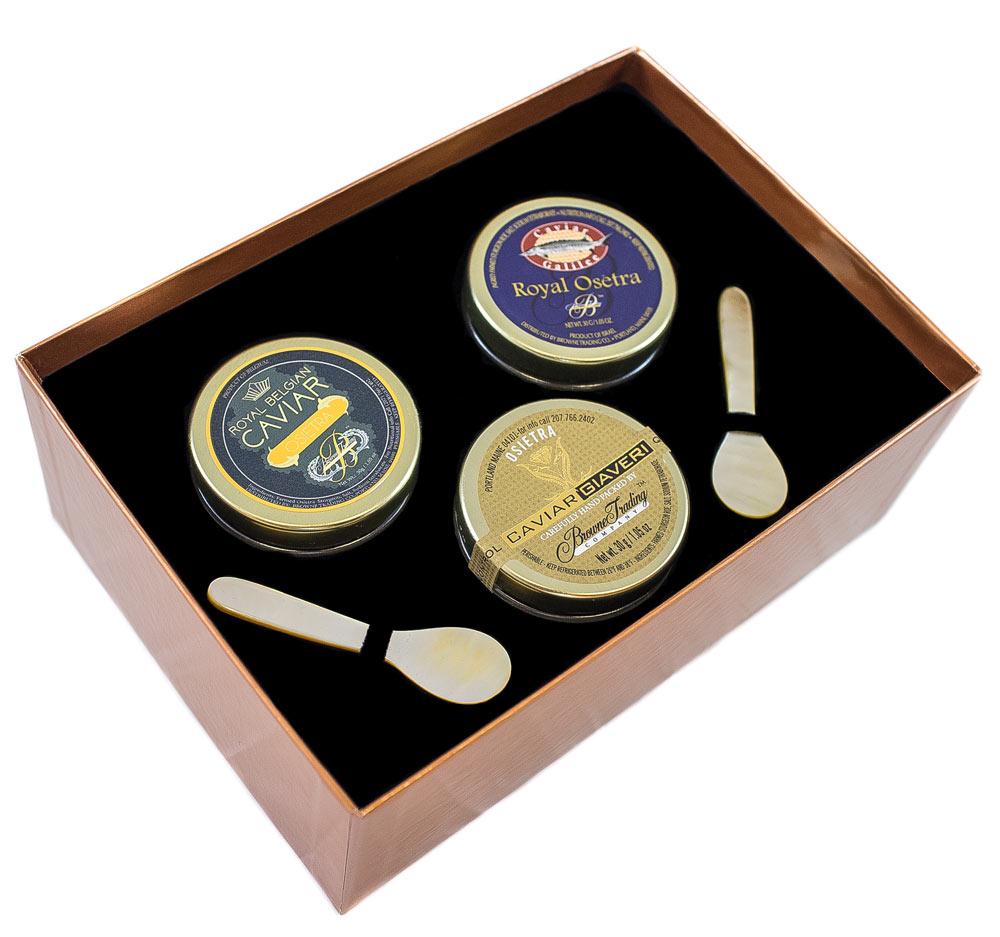 Royal Osetra Caviar Collection