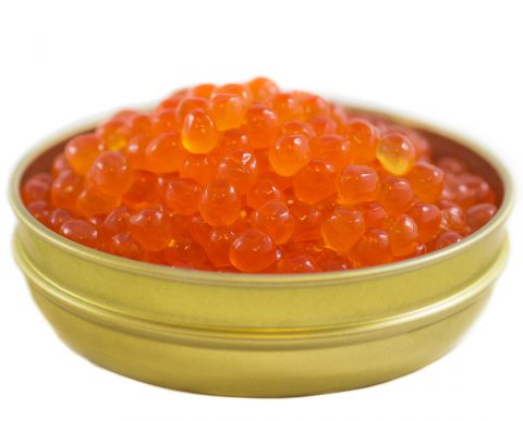 Salmon Caviar Tin