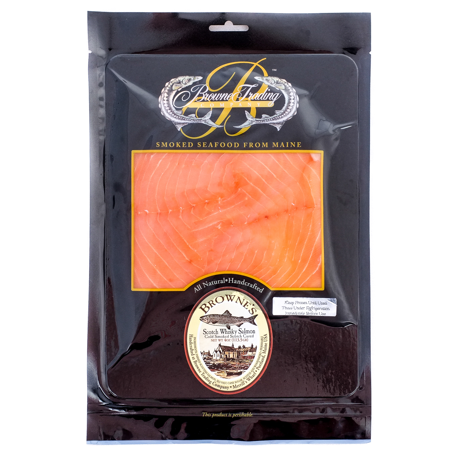 Light Smoked Salmon