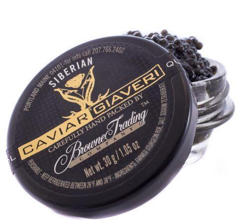 Siberian Sturgeon Caviar Jar