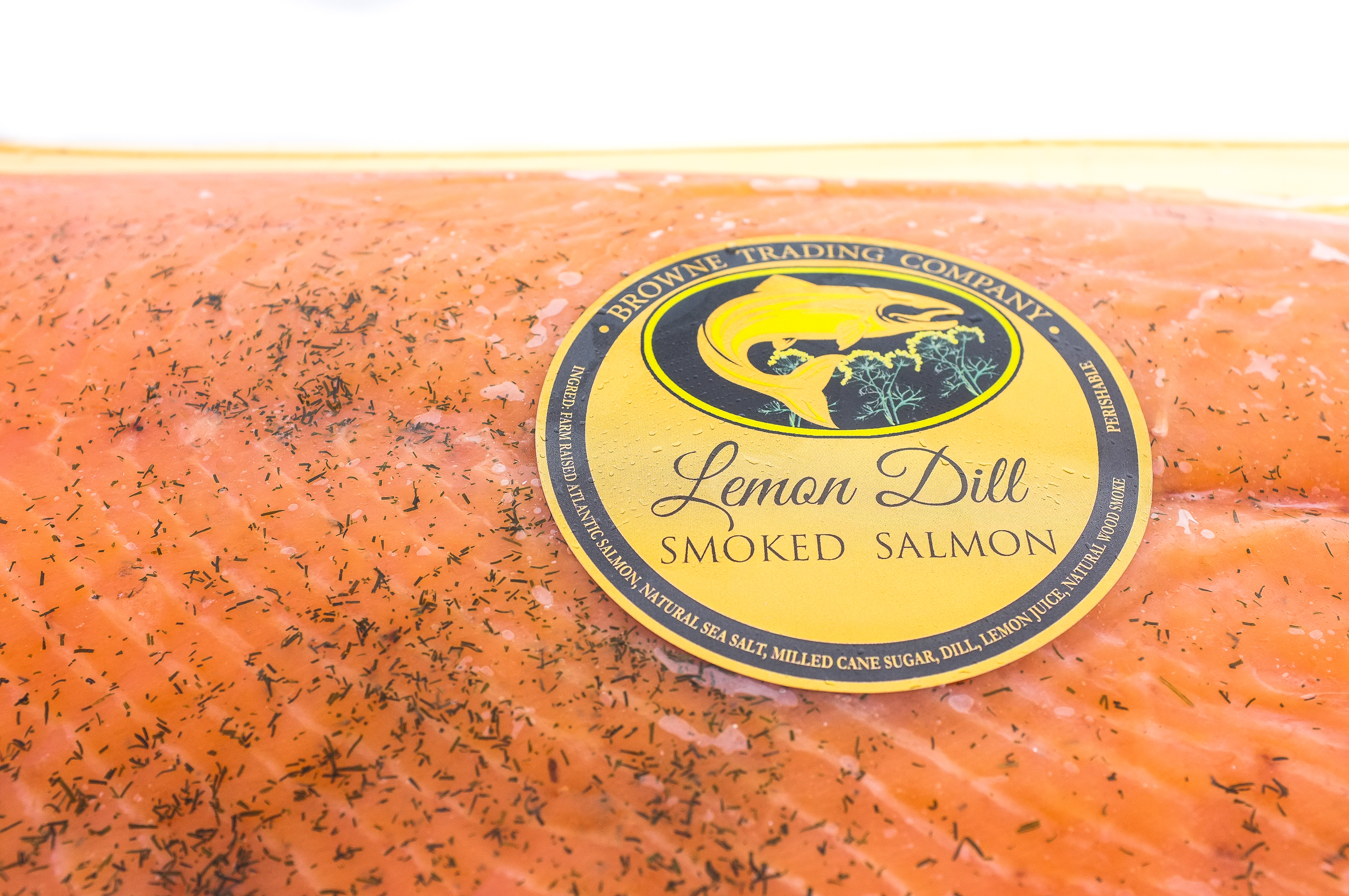 Smoked Salmon Dill Side