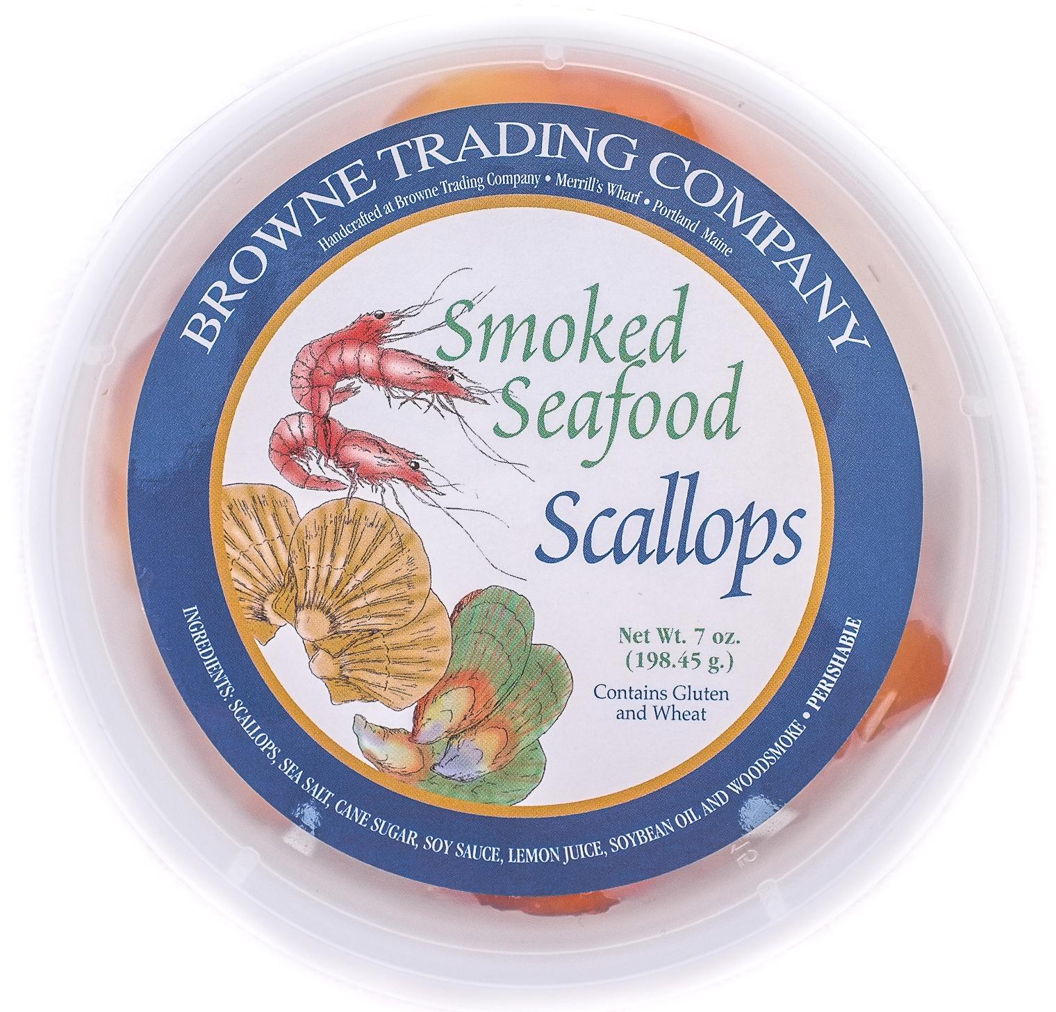 Smoked Scallops