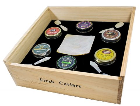 World Caviar Tasting Assortment