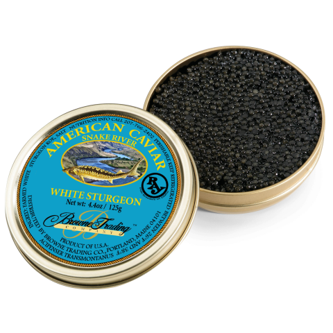 Snake River Royal White Sturgeon Caviar