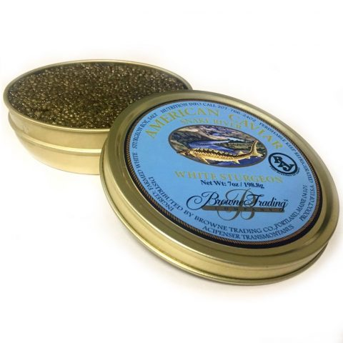 White Sturgeon Caviar