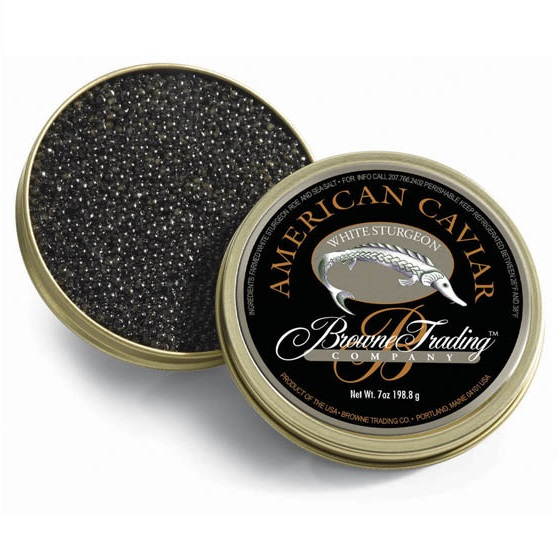 Classic American White Sturgeon Caviar