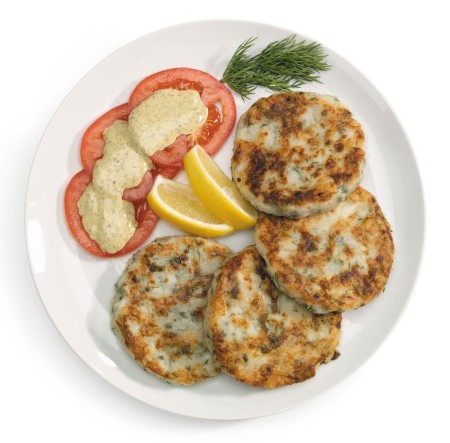 Finnan Haddie and Potato Cakes