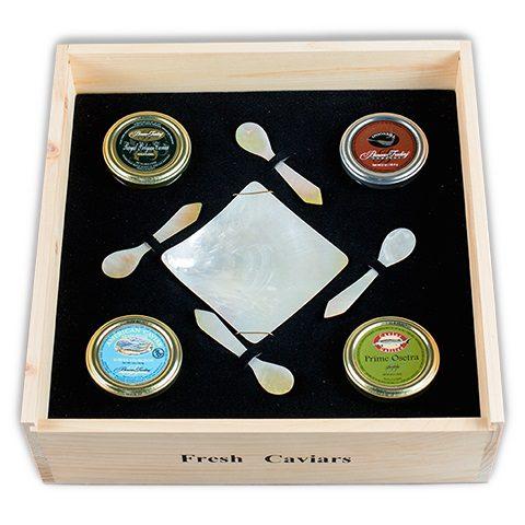 Connoisseur's Choice Caviar Tasting Collection