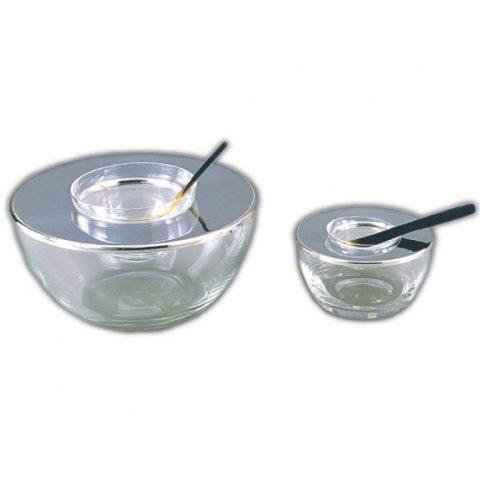 Crystal Caviar Bowls