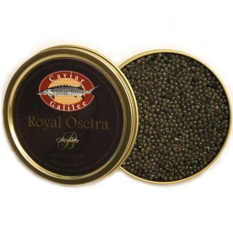 Galilee Royal Osetra Caviar Squared
