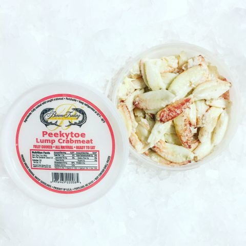 Maine Peekytoe Crabmeat