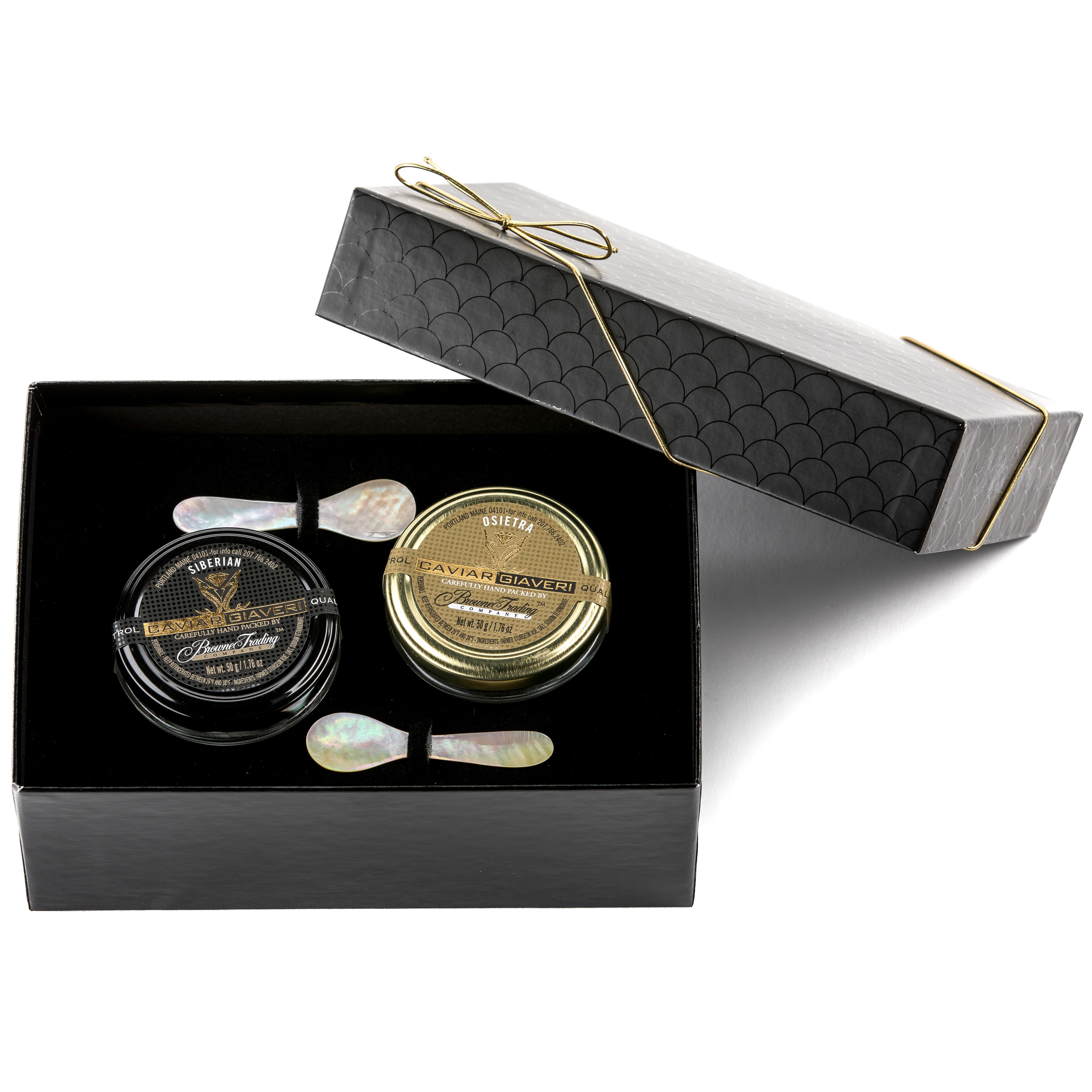 Italian Caviar Gift Set