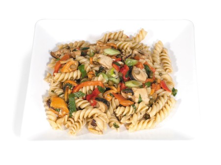 Smoked Mussels in a Cold Pasta Salad
