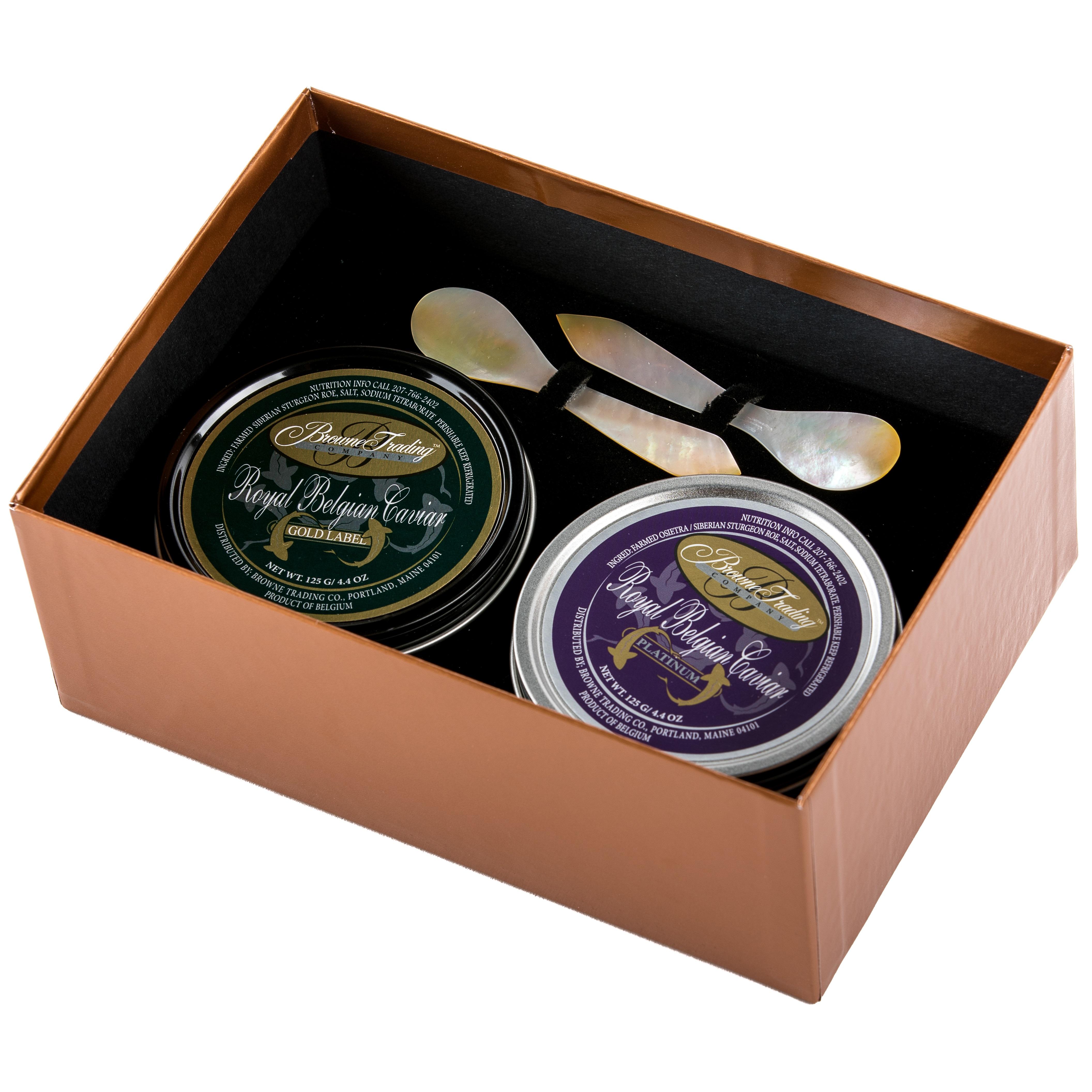 Belgian Caviar Giftset