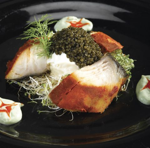 Smoked Sturgeon and Caviar Pairing